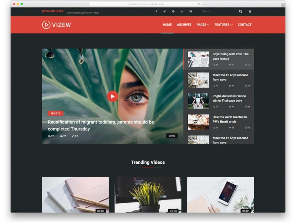 vizew-free-bootstrap-website-templates