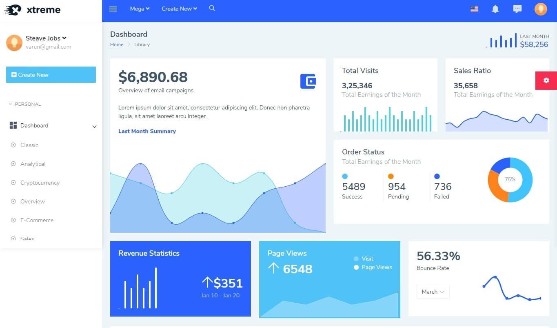 xtreme-admin-dashboard-template