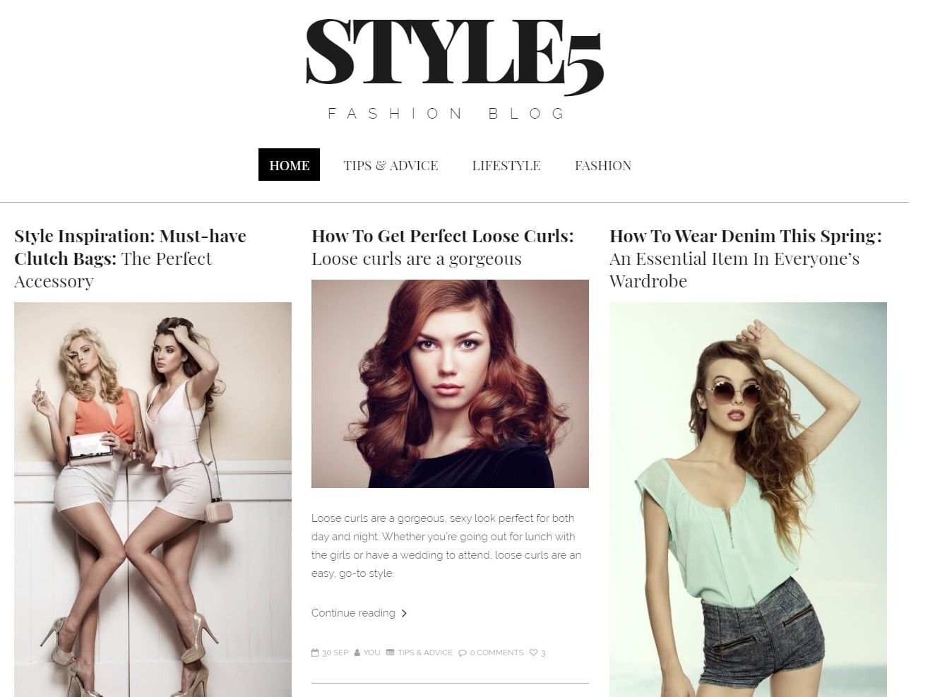 you-html-blog-template