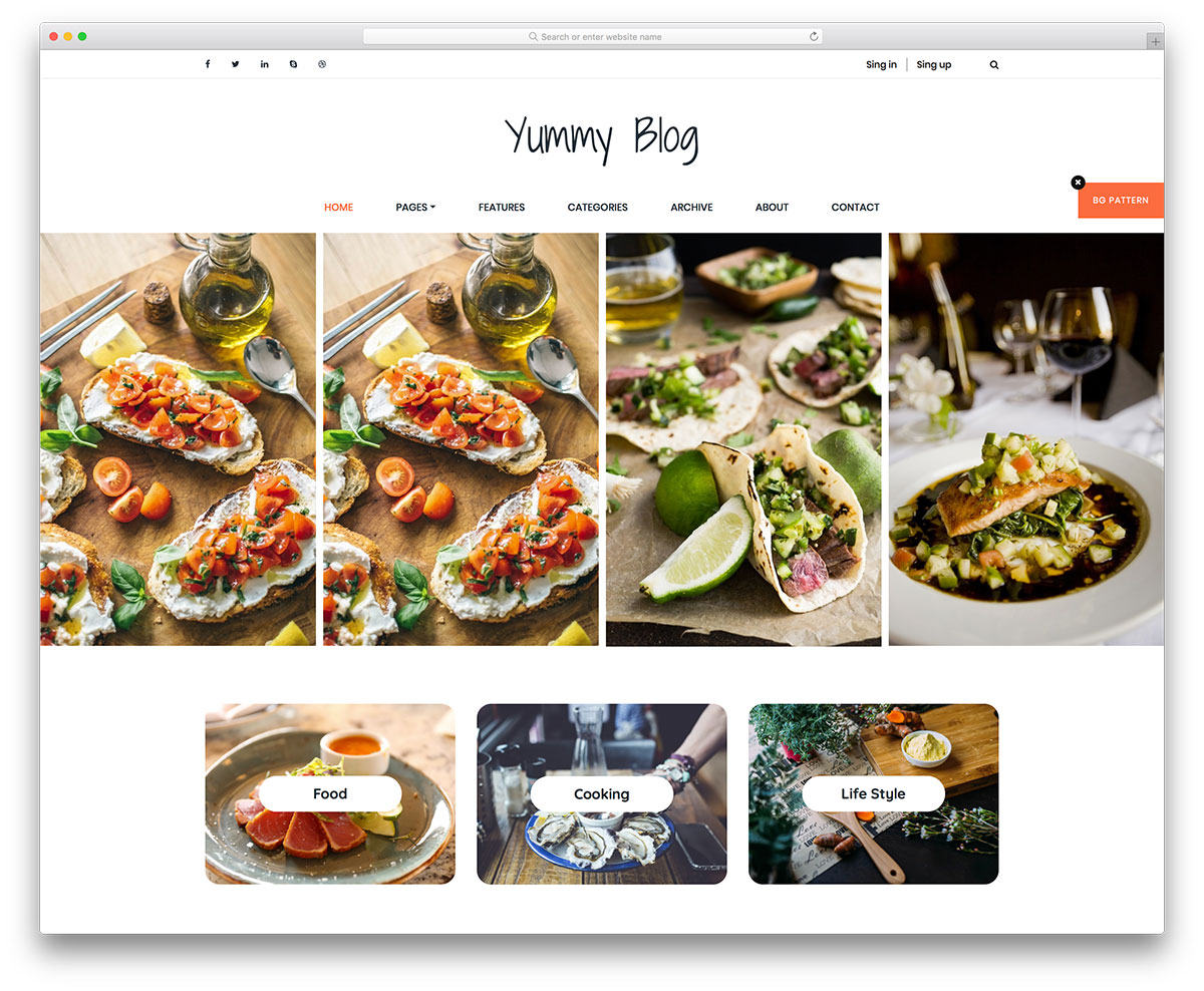 yummy-free-bootstrap-blog-templates