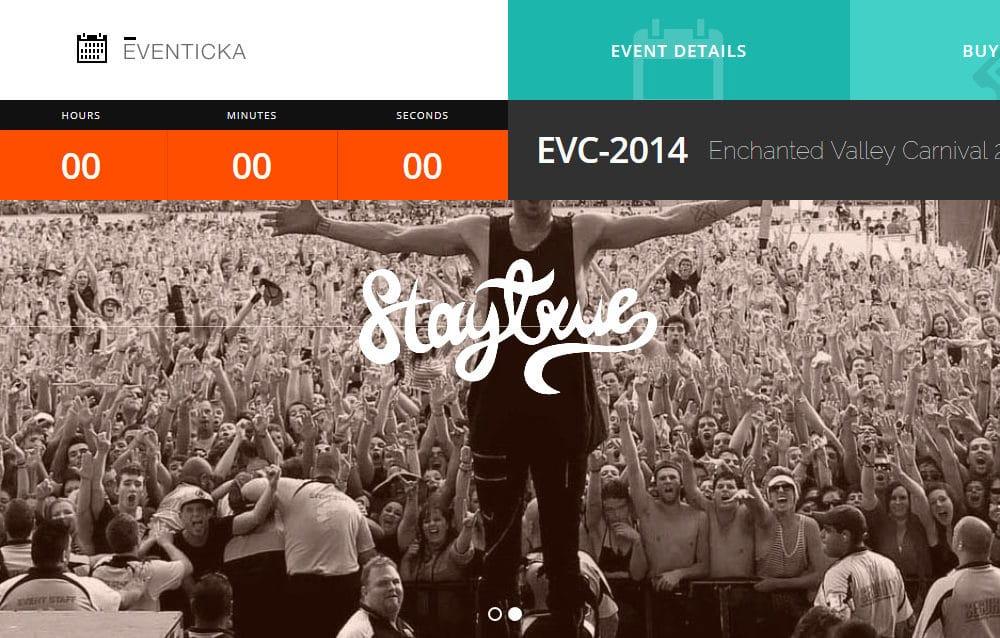 24 Impressive Event Website Templates To Capture Your Visitors