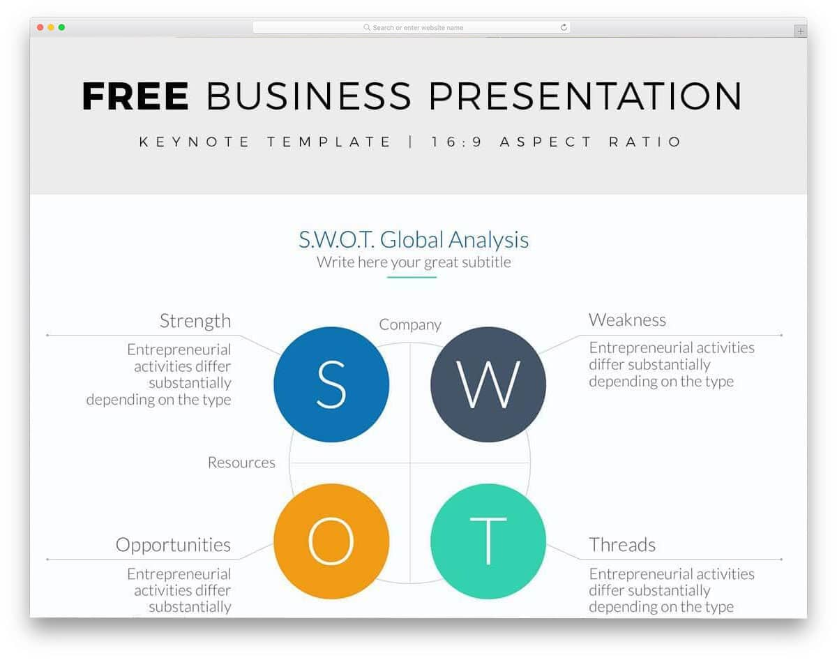 26 free keynote templates with interactive design 2018 uicookies free business presentation free keynote templates wajeb