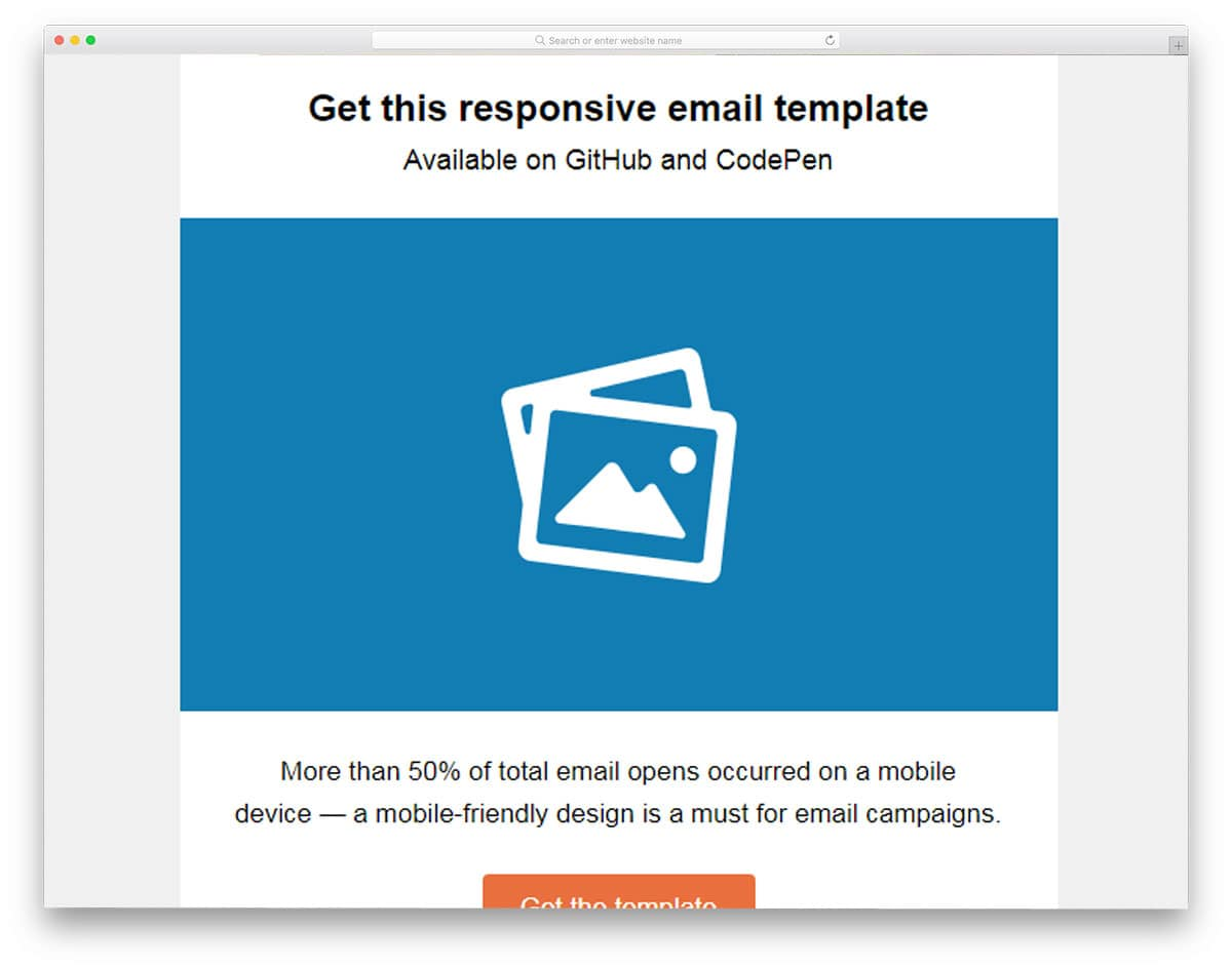 General-Email-Template