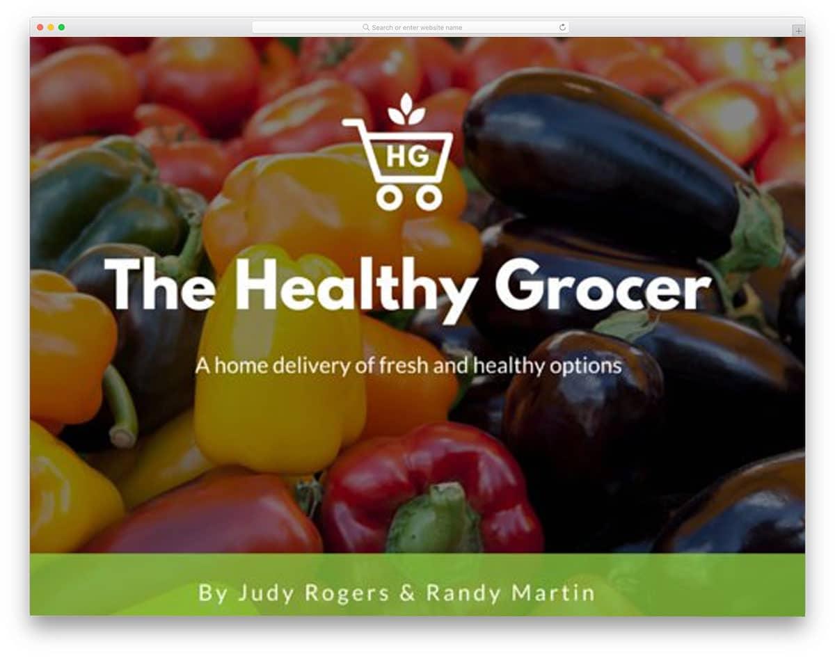 Healthy-Food-free-keynote-templates