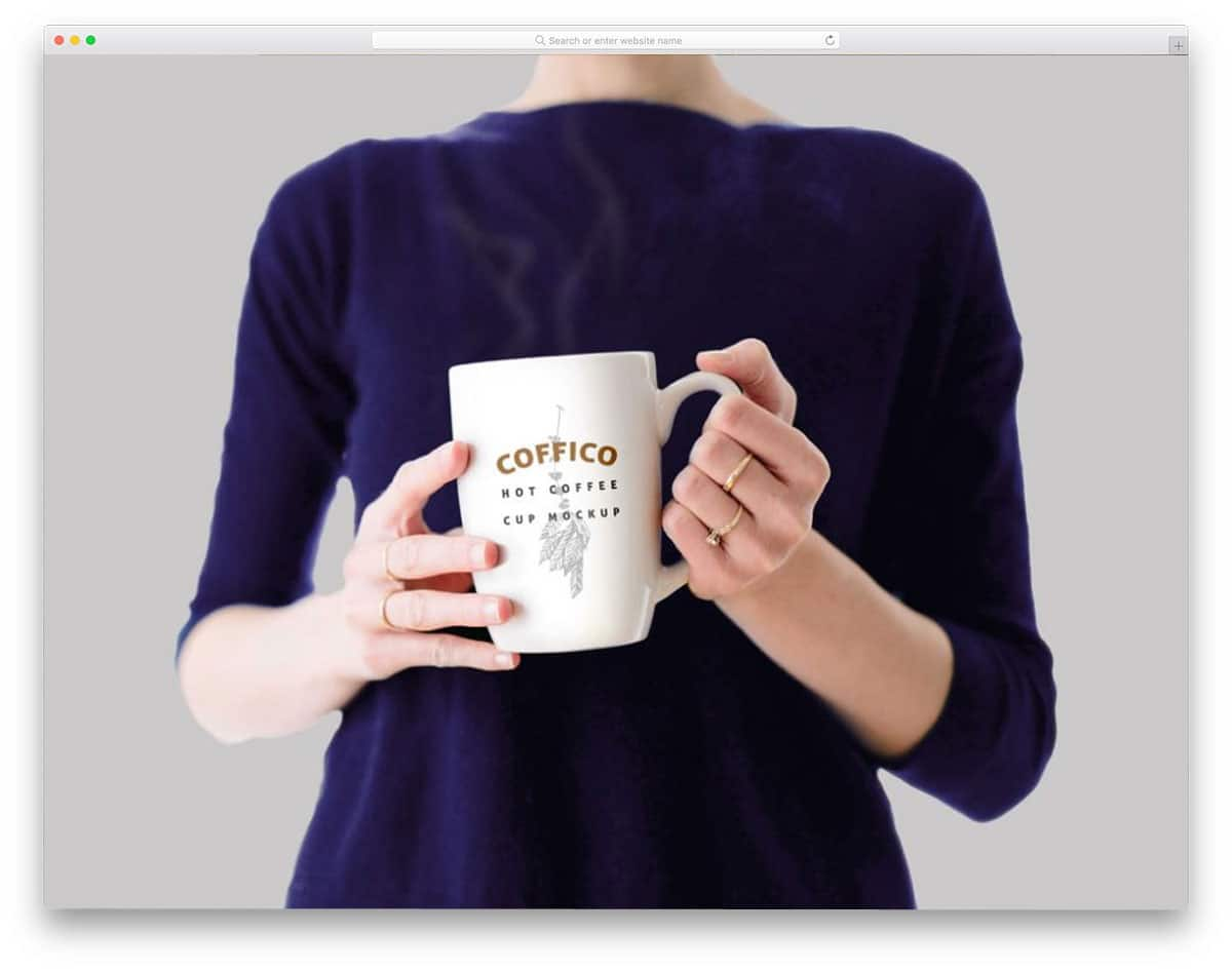 Woman-Holding-Coffee-Mug