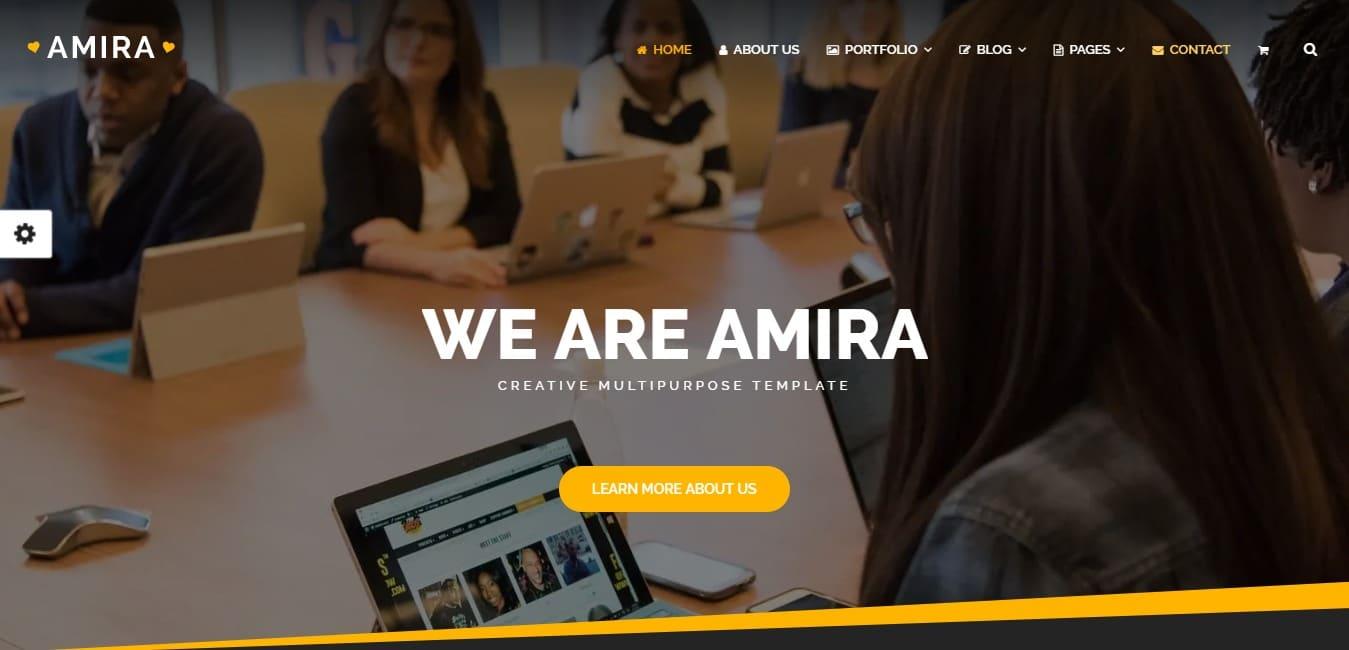 amira-travel-website-template