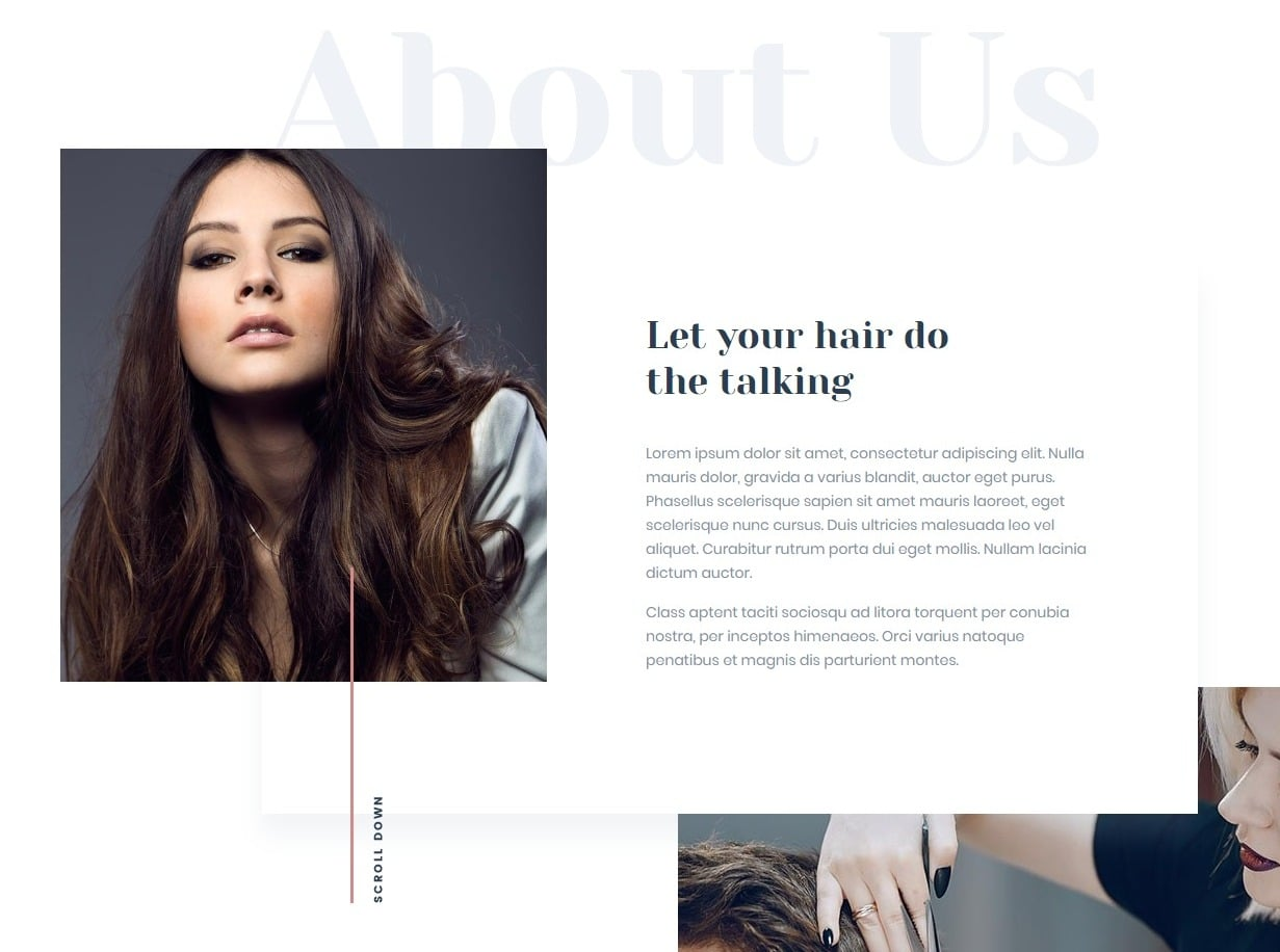 be-theme-one-page-website-template