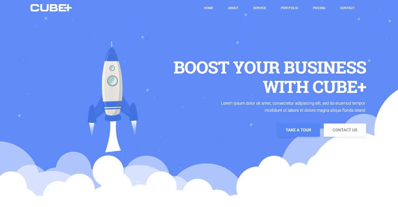 cube-one-page-website-template