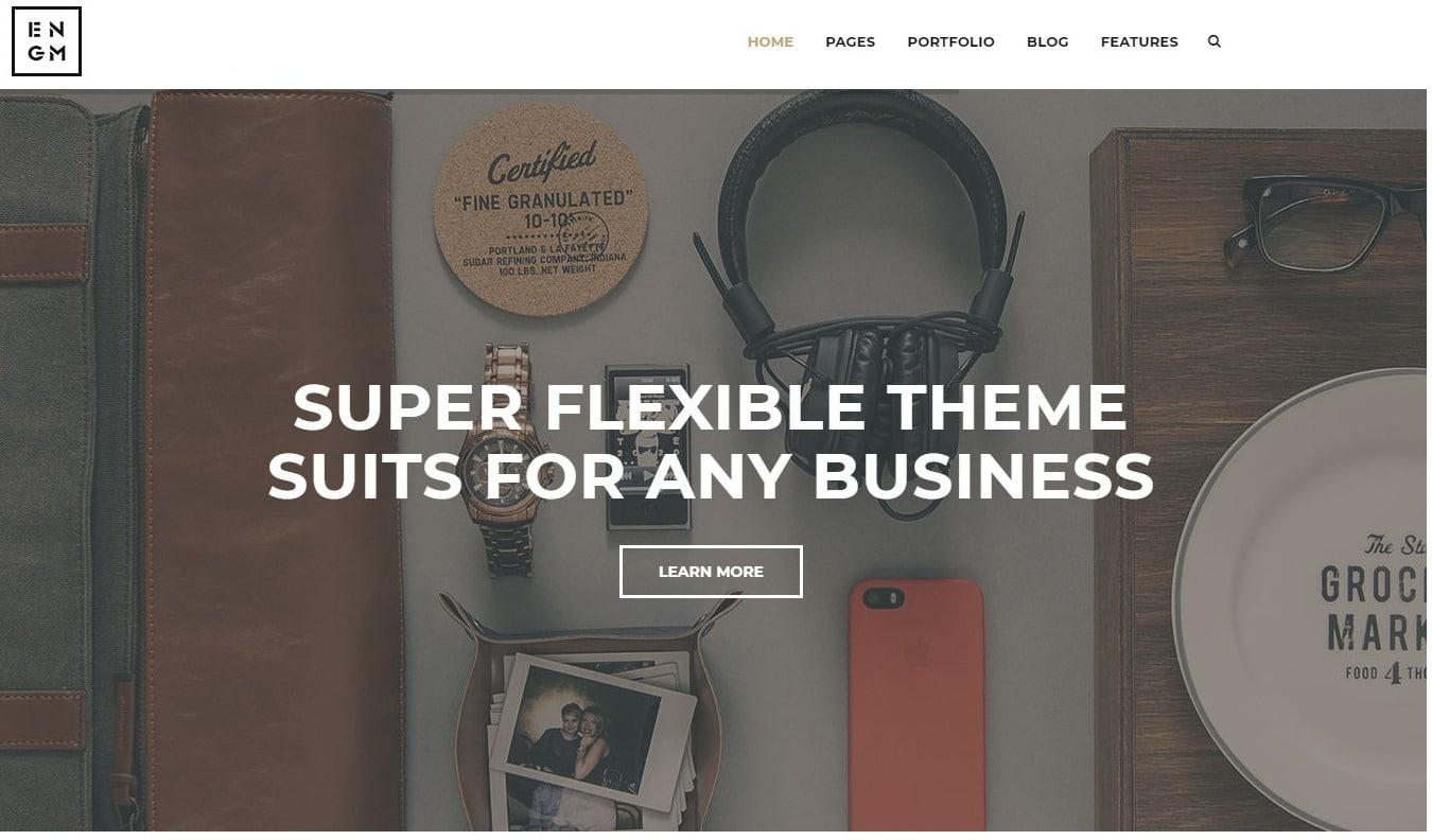 enigma-simple-website-template