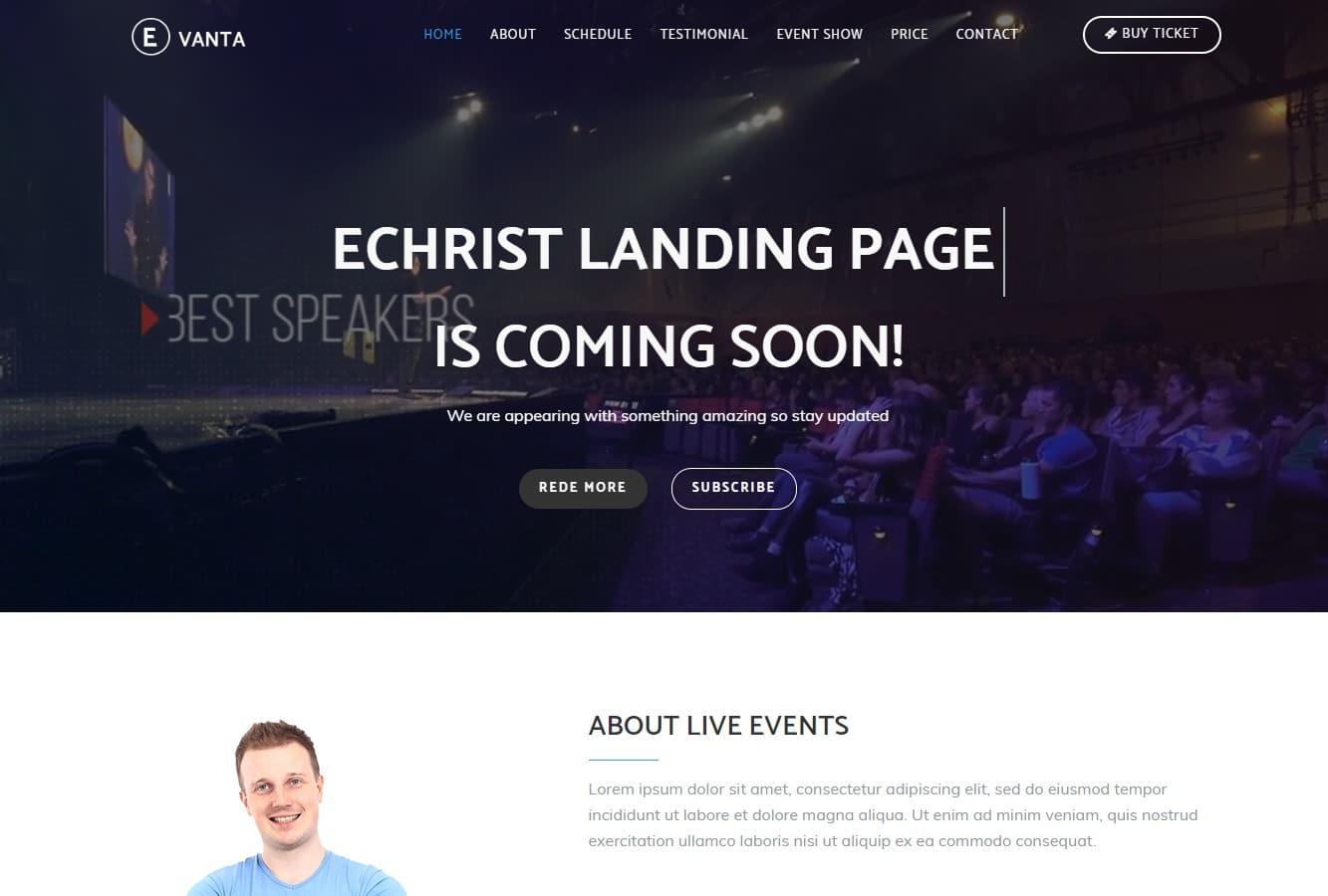 evanta-event-templates