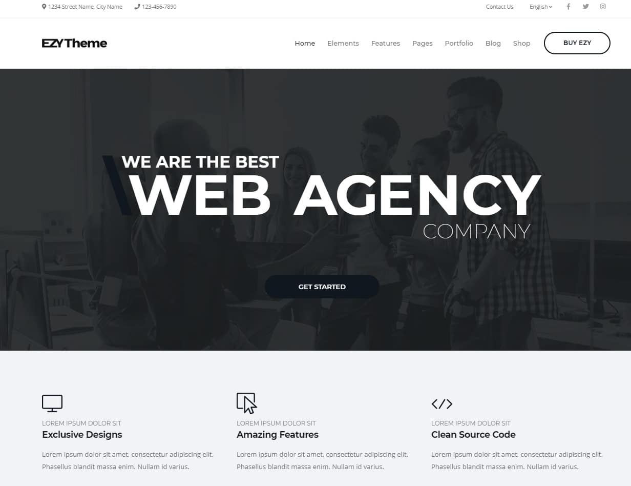20 Minimal And Simple Website Templates For Every Niche 2018