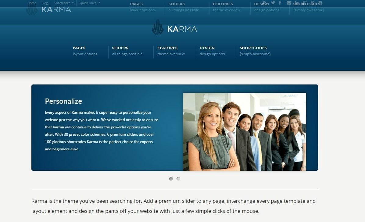 karma-travel-website-template