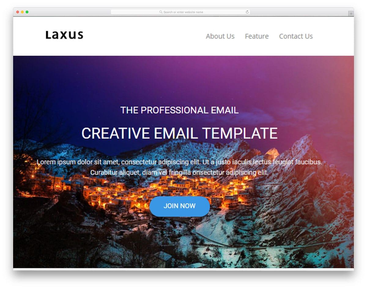 laxus-mailchimp-email-templates