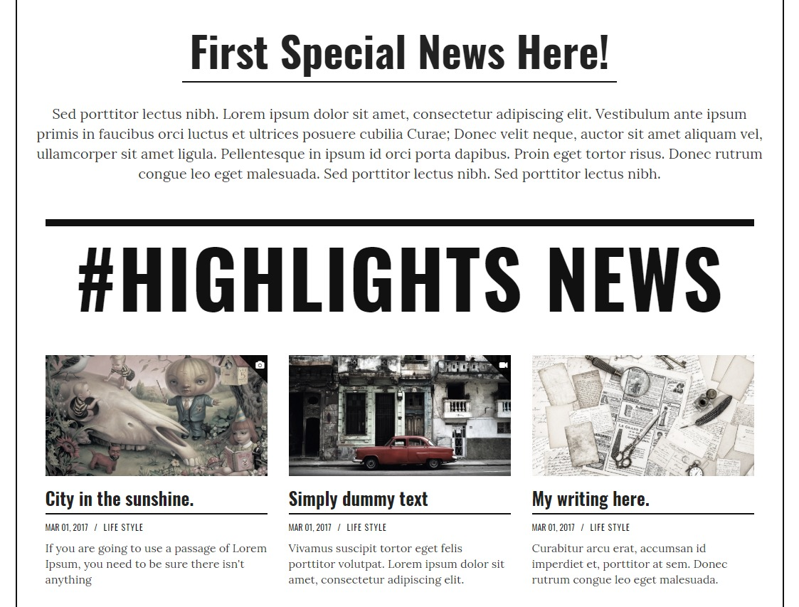 mazpage-news-website-templates