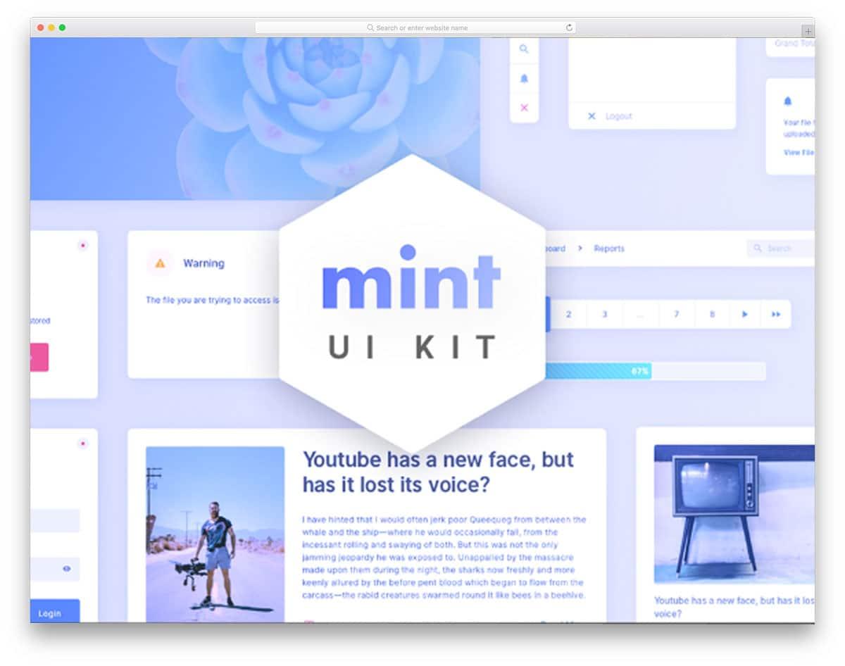 mint-ui-kit-free-ui-kits