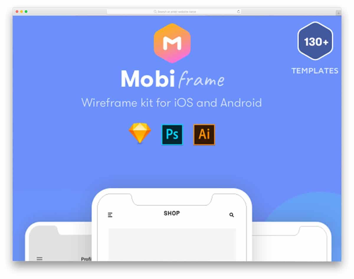 mobi-frame