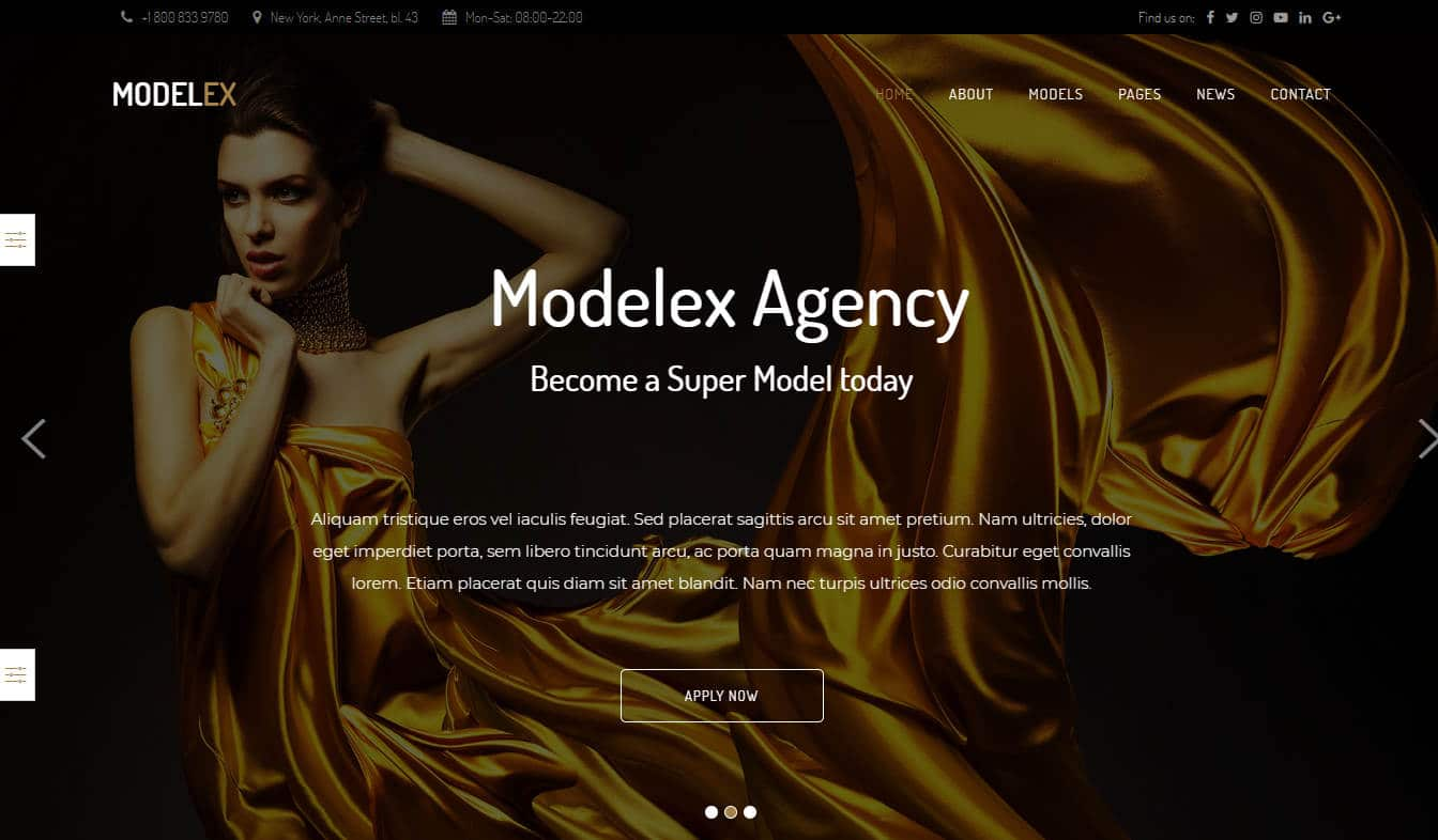 modelex-fashion-templates