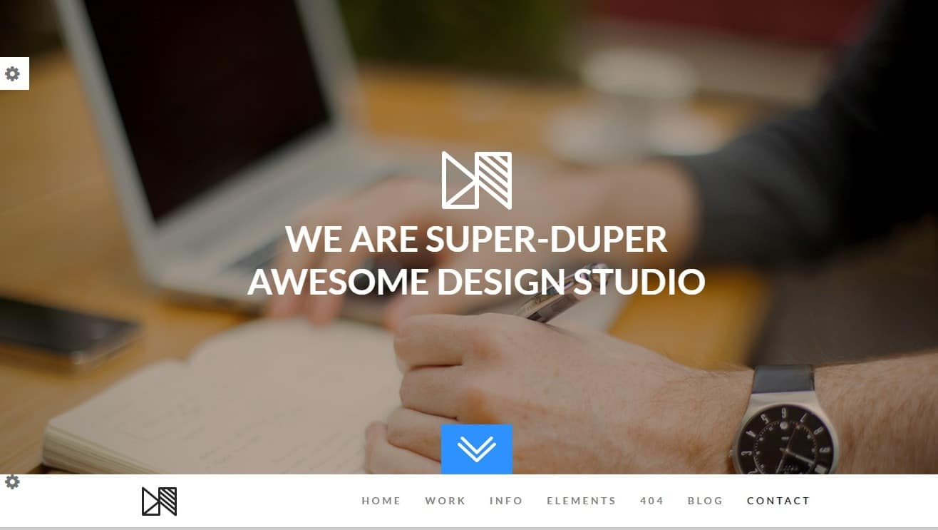 nonus-simple-website-template