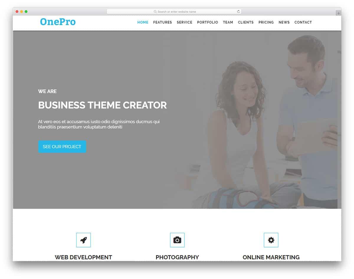 onepro-free-hosting-website-templates