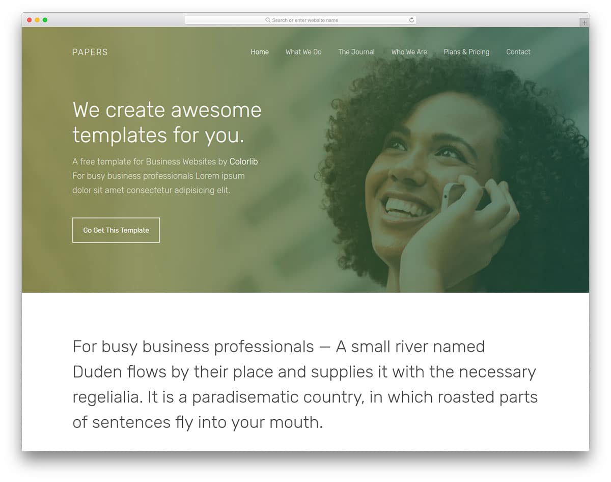 papers-free-bootstrap-business-templates