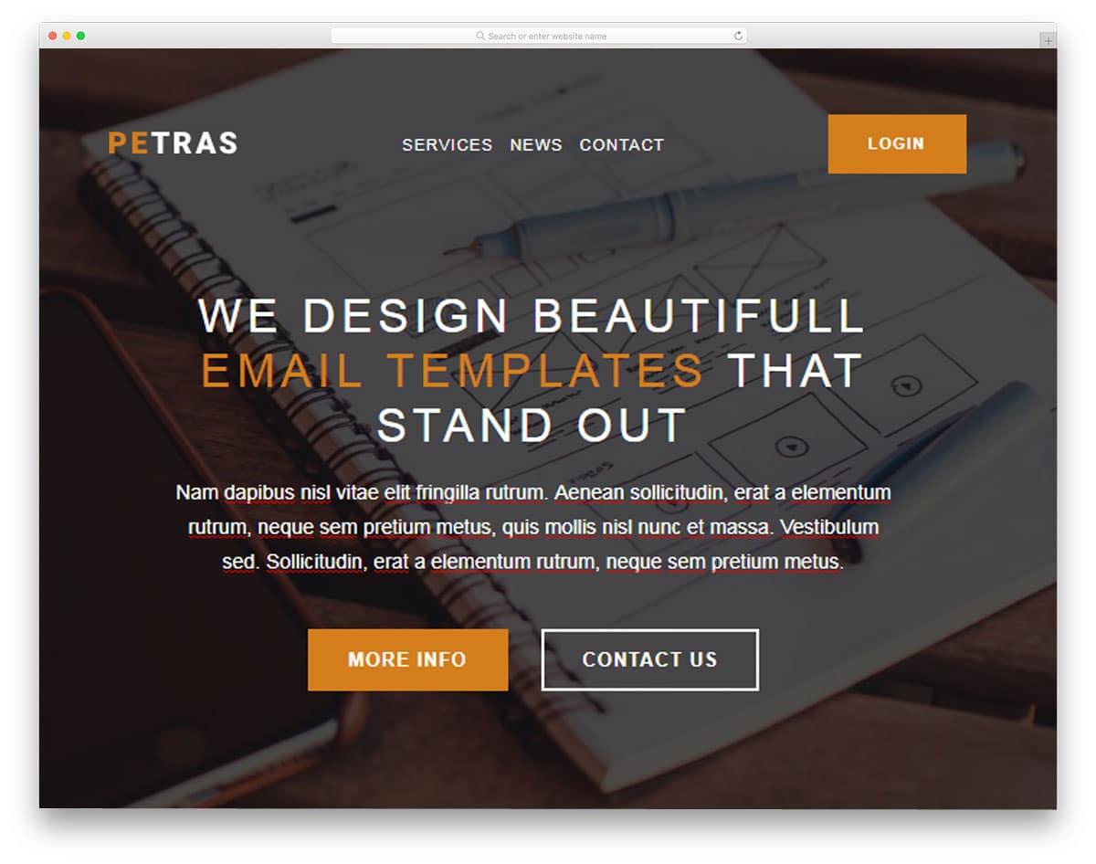 petras-mailchimp-email-templates