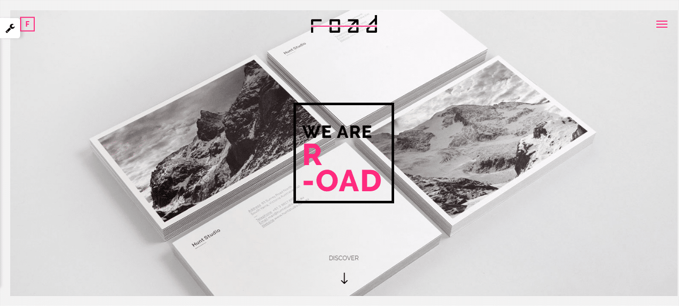 road-photography-website-template