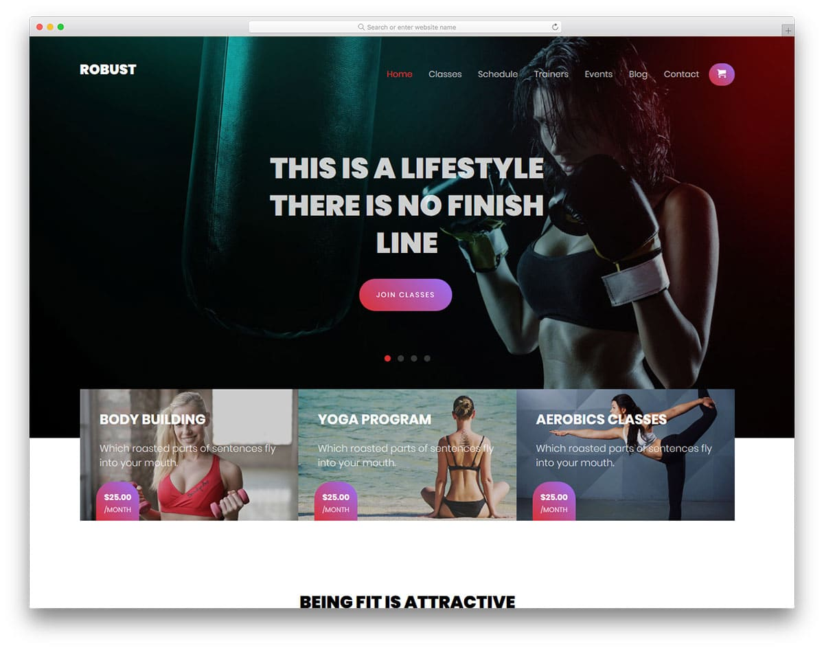 robust-free-fitness-website-templates