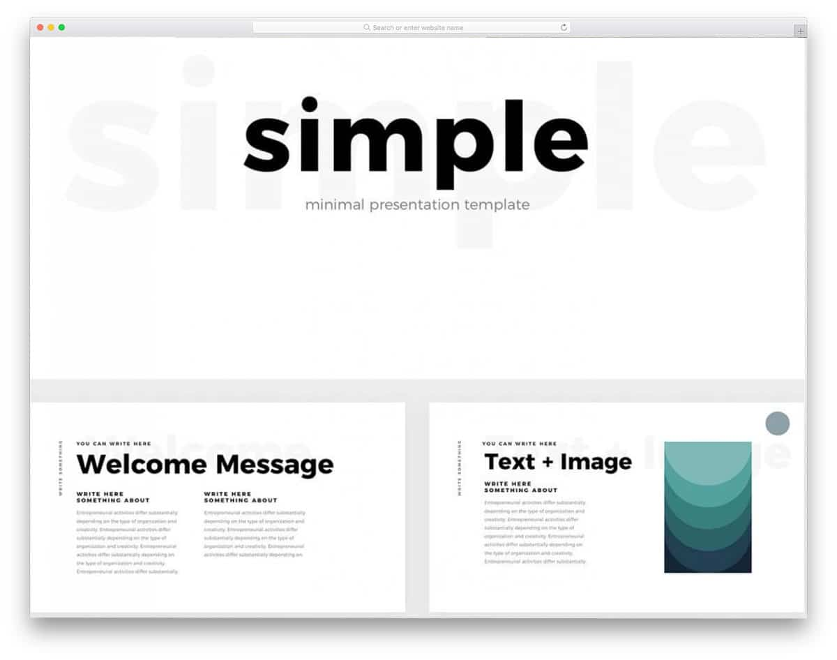 Keynote Template | 26 Free Keynote Templates With Interactive Design 2018 Uicookies