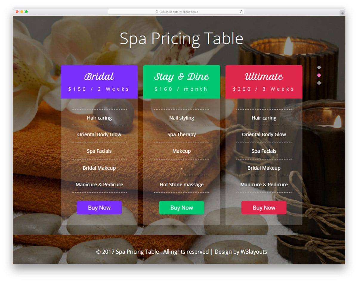 spa-pricing-table