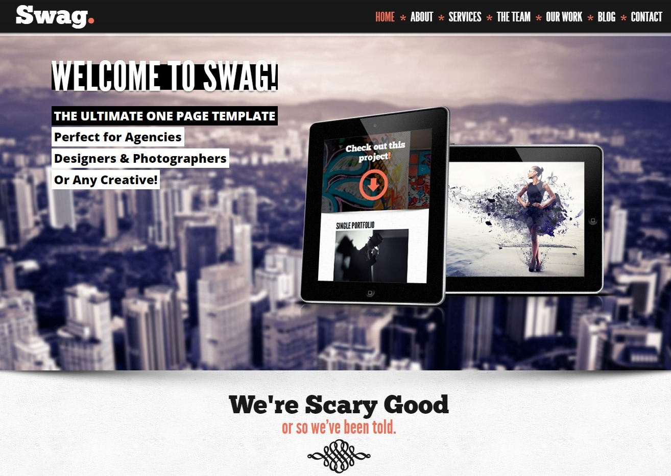 swag-one-page-website-template