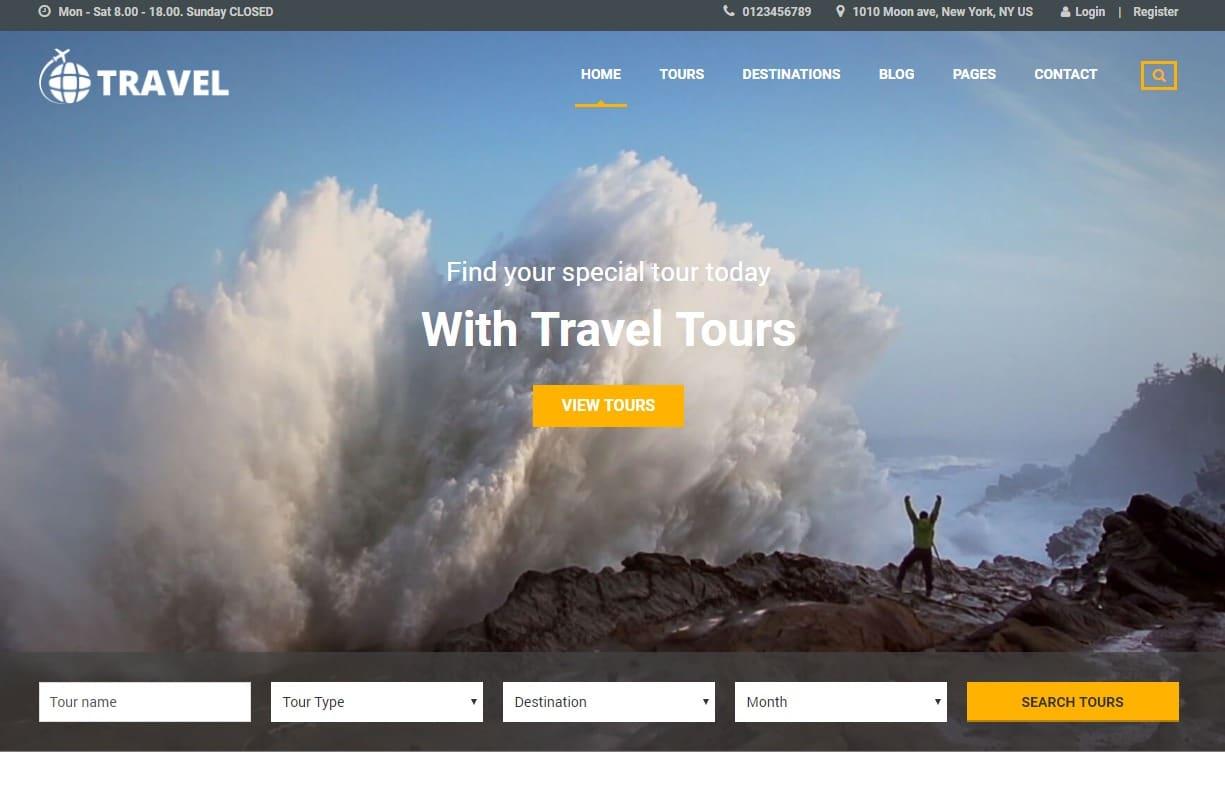 travel-travel-website-template