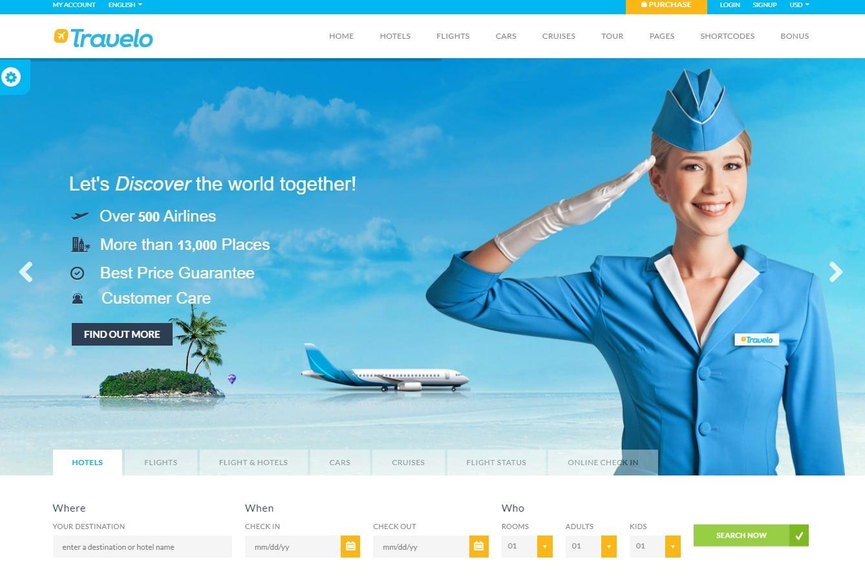 travelo-travel-website-template