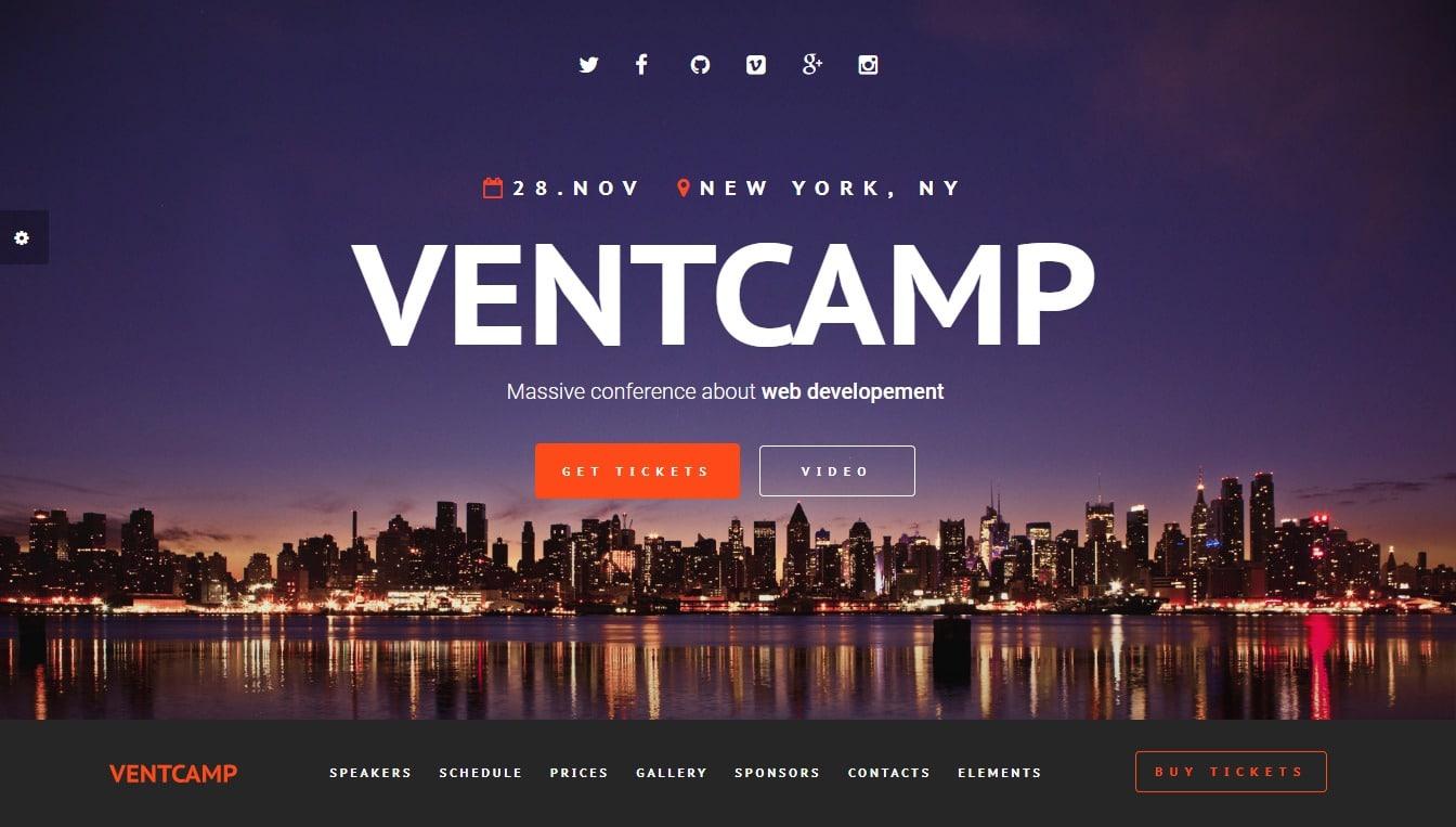 ventcamp-event-templates