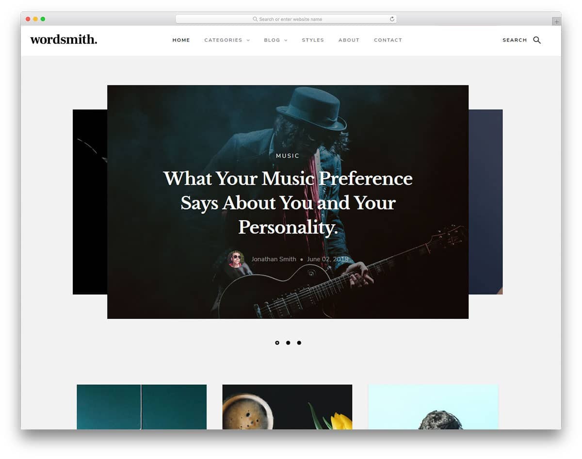 wordsmith-free-bootstrap-blog-templates
