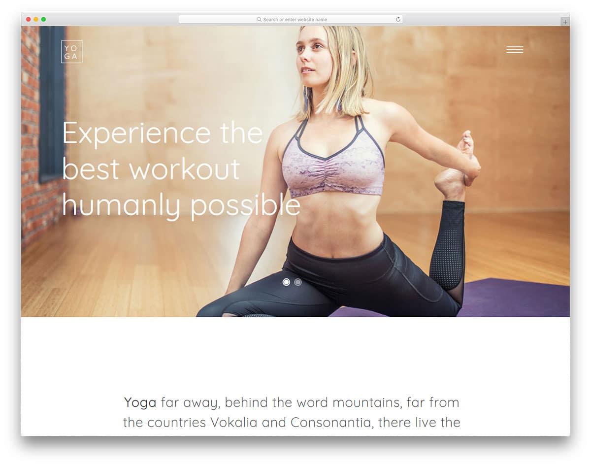 yoga-free-fitness-website-templates
