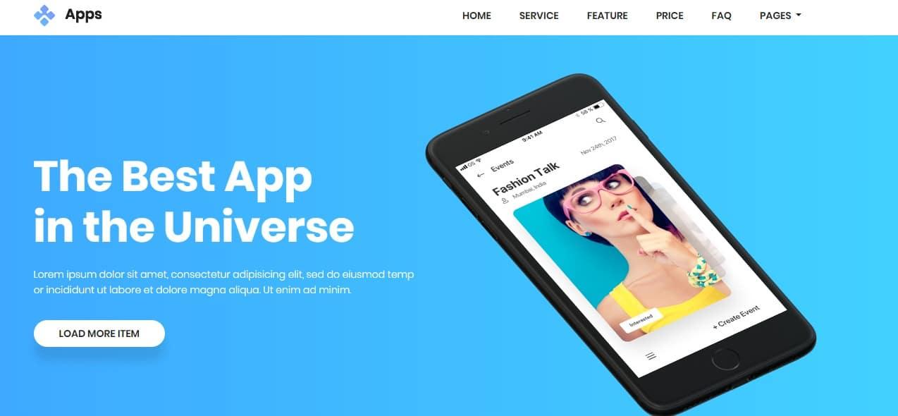App-mobile-app-templates