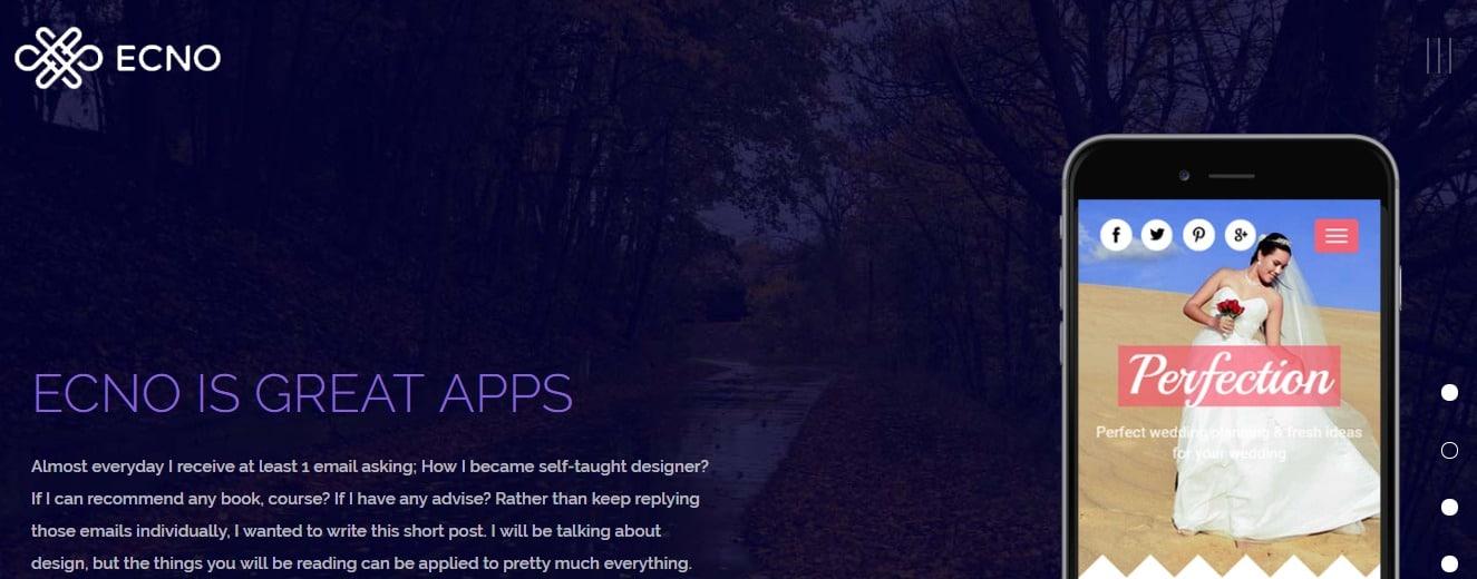 Ecno-mobile-app-template