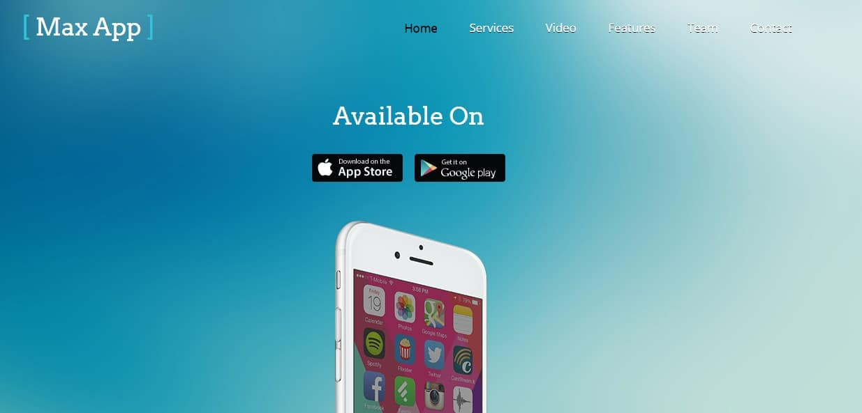 Max-app-mobile-app-templates