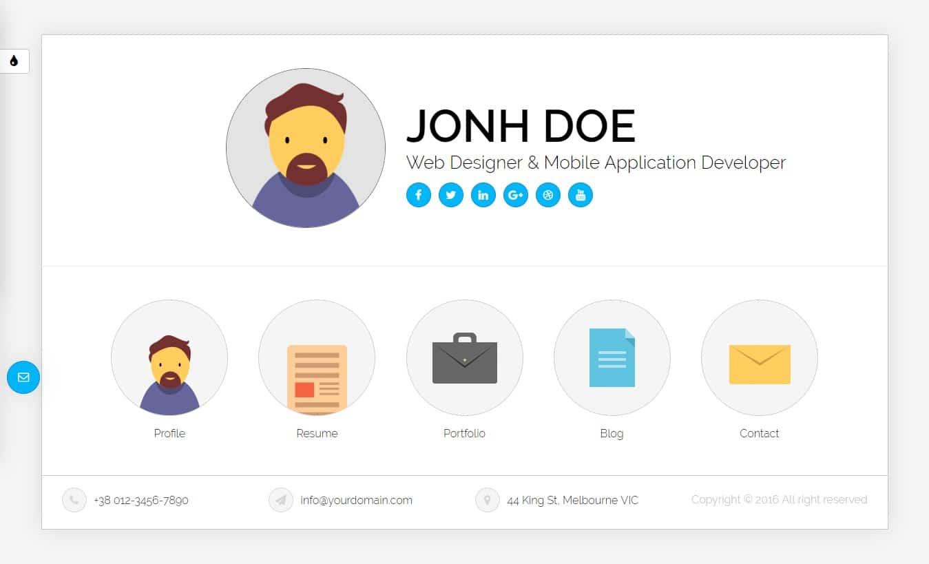 Ukiecard-bootstrap-personal-website-template