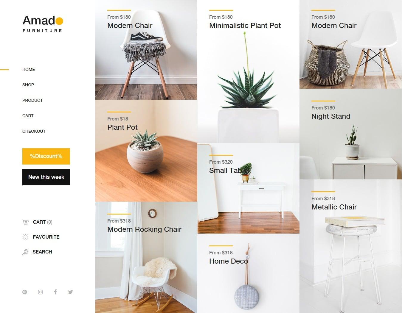 amado-shop-website-template