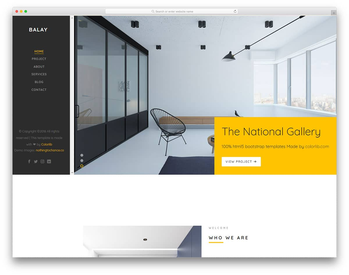 balay-free-clean-website-templates
