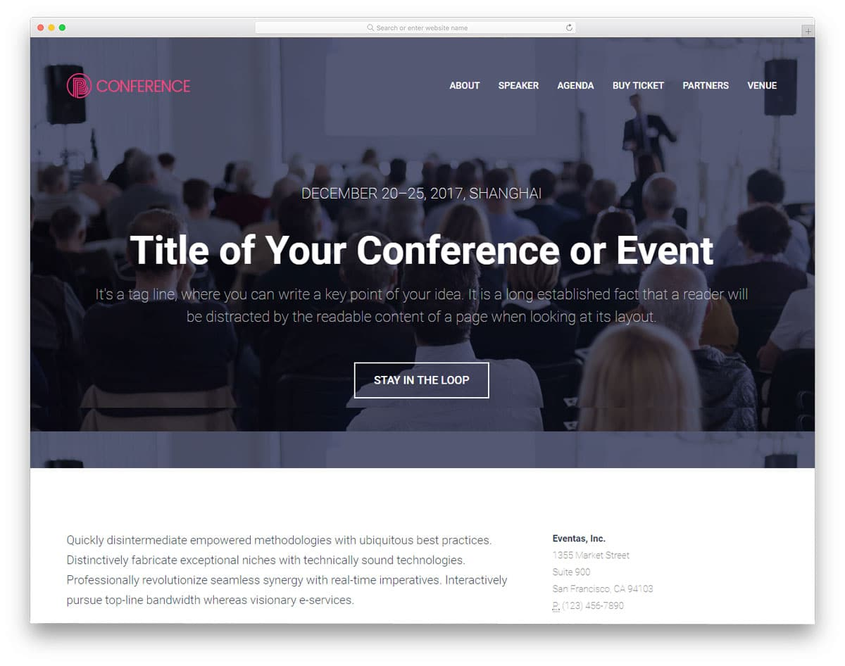 coference-free-web-design-templates
