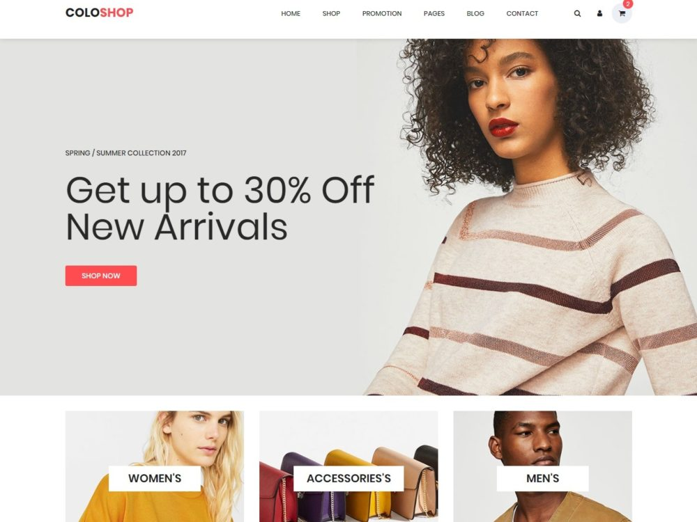 25 Best Free HTML Shop Website Templates To Increase Your