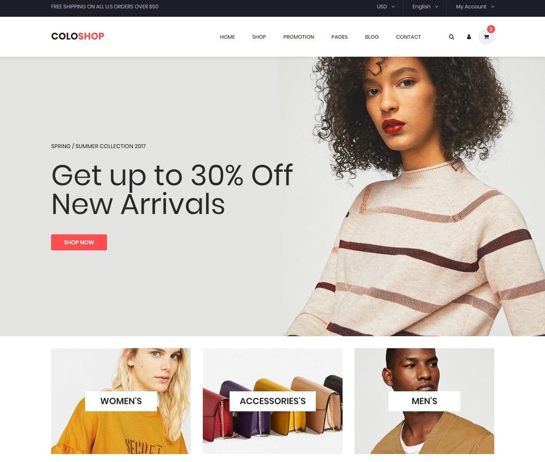 coloshop-store-shop-website-template