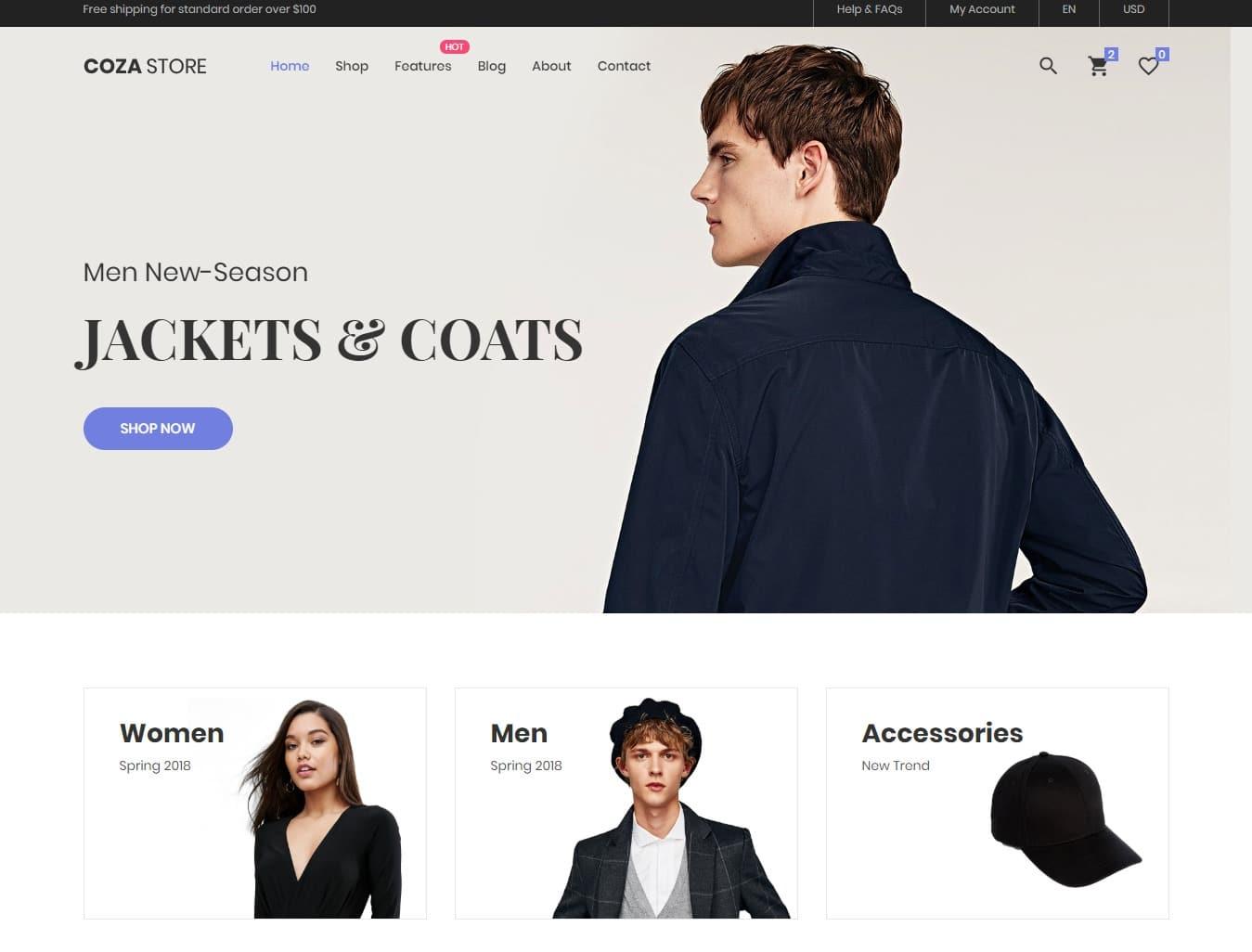 coza-store-shop-website-template