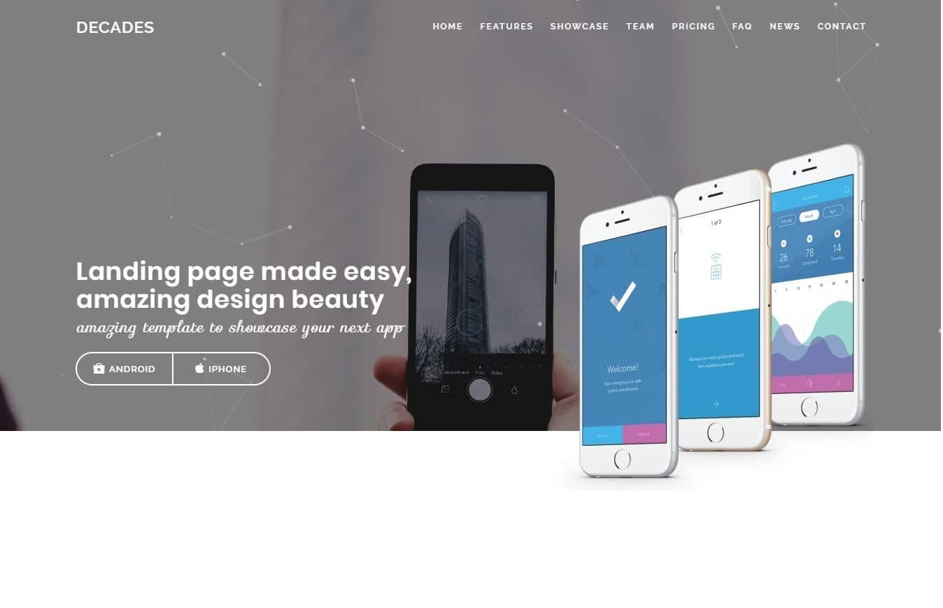 20 Best Premium Landing Page Template To Boast your Products for ...