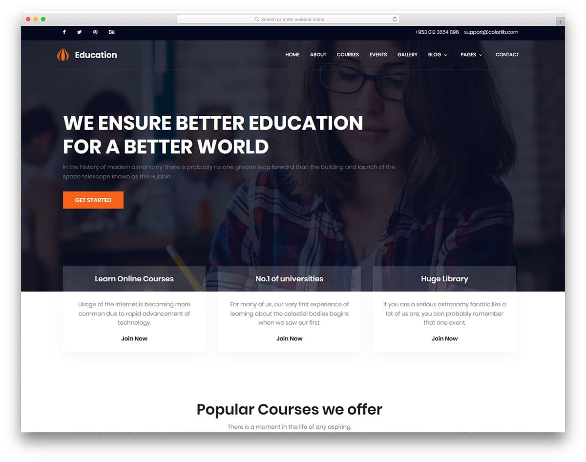 education-free-bootstrap-school-templates