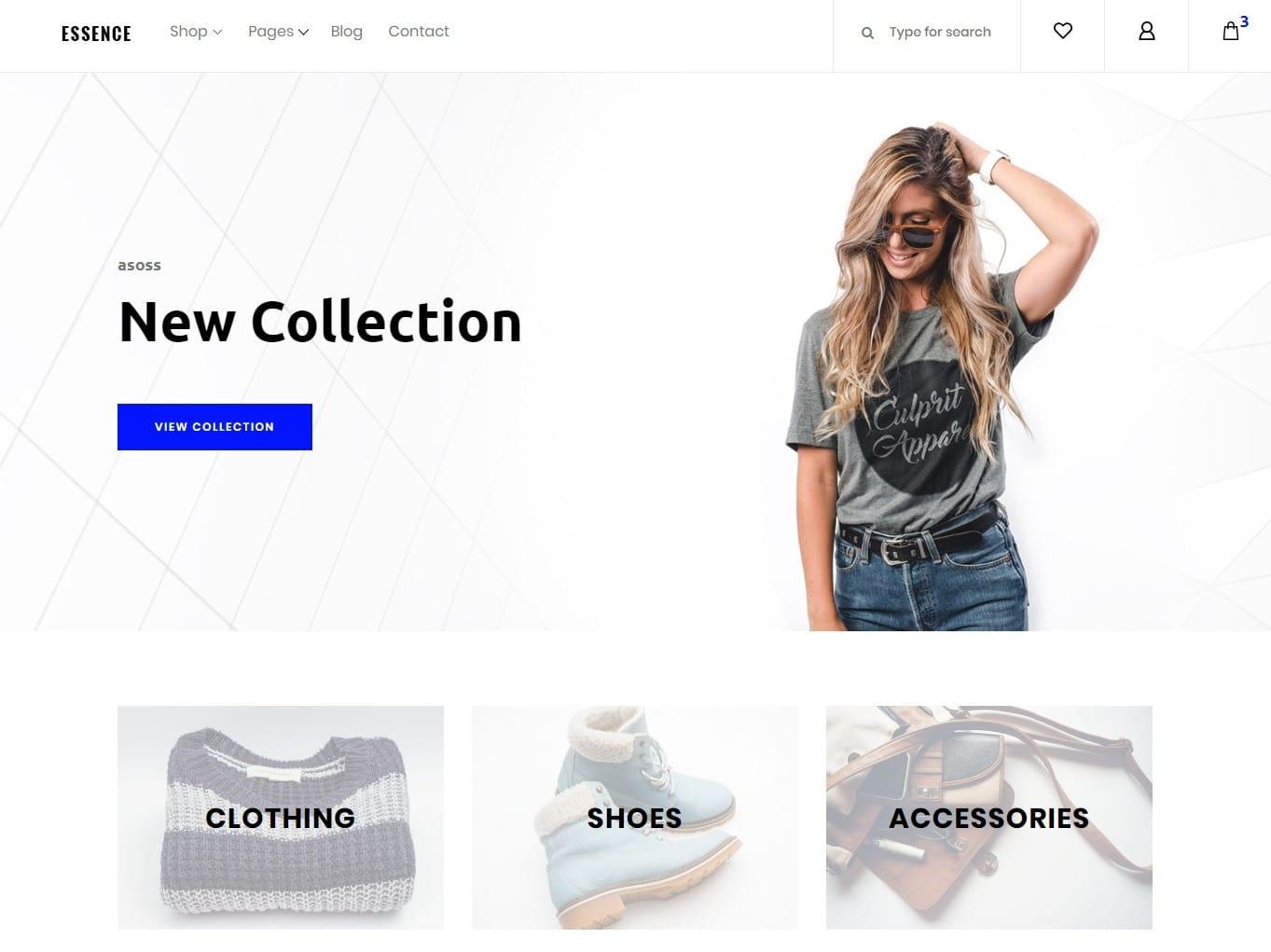 essence-store-shop-website-template