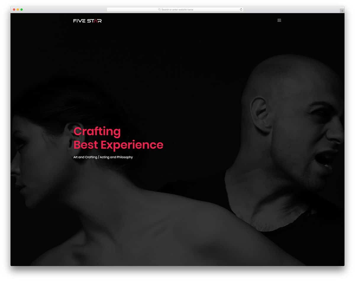 five-star-free-freelancer-website-templates
