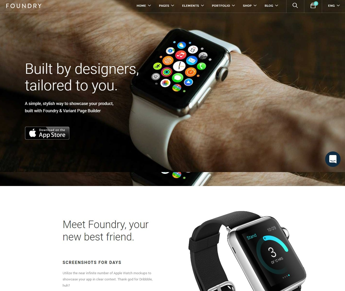 foundry-landing-page-templates